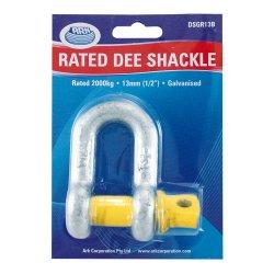 13mm D-Shackle (2000Kg Rated) For Trailer