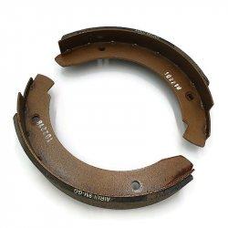 "9"" Mechanical Backing Plate Brake Shoe Set For Trailer"